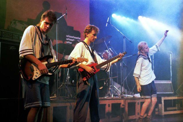 Mňága a Žďorp v roce 1992