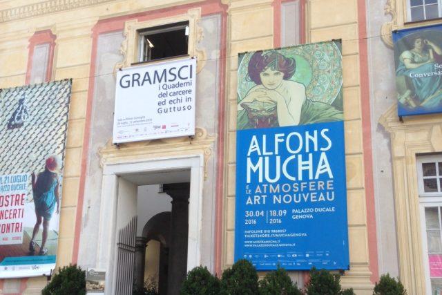 Alfons Mucha   foto: Jan Šmíd,  Český rozhlas