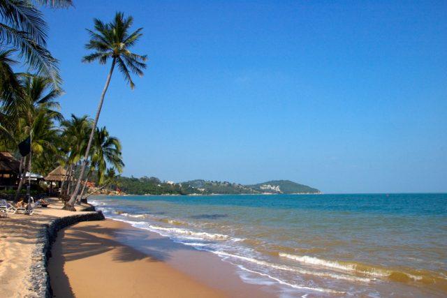 Pláž na jihu Thajska