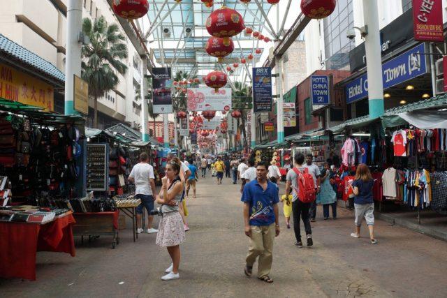 Kuala Lumpur, čínská čtvrtť