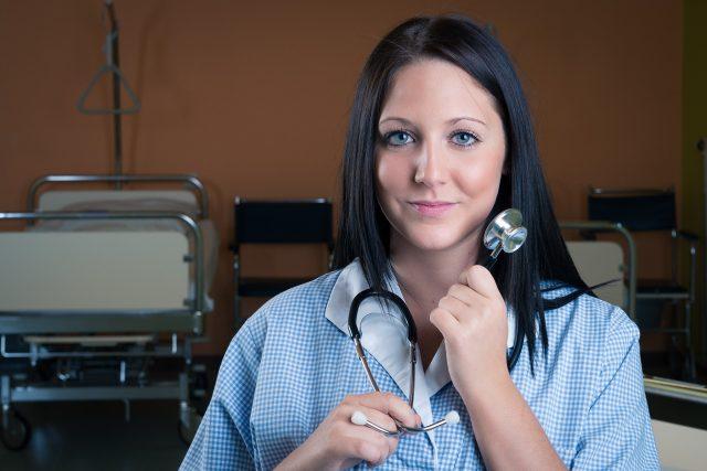 Zdravotní sestra (ilustrační fotka)
