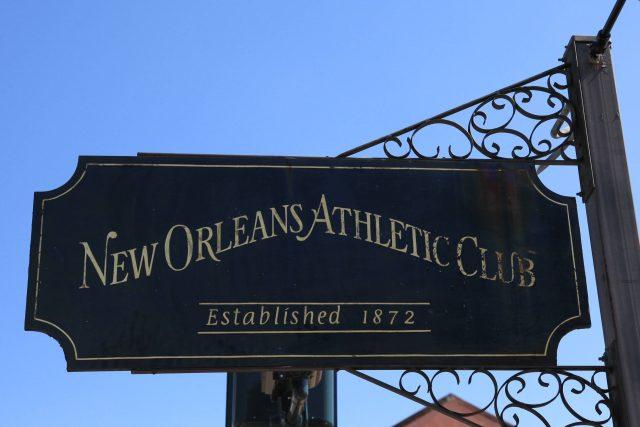 Neworleanský atletický klub je v provozu od roku 1872