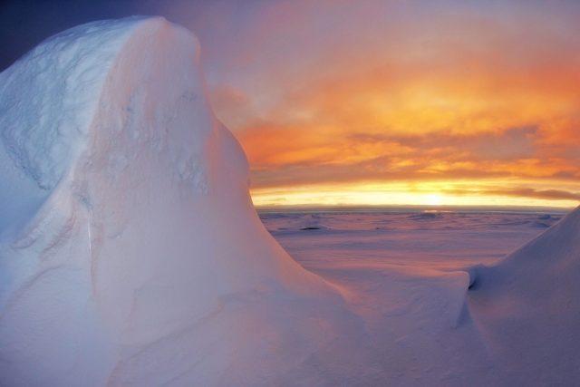 Antarktida (ilustrační foto)