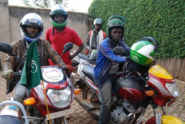 Mototaxikářů je v Kigali na patnáct tisíc
