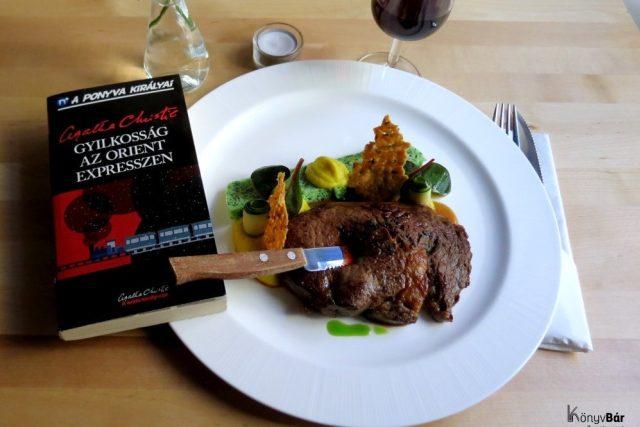Menu inspirované knihou Agathy Christie Vražda v Orient expresu | foto:  KönyvBár & restaurant