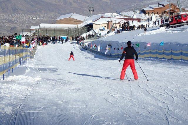 Sjezdovky nejsou dlouhé, ale místní nejsou nijak nároční lyžaři