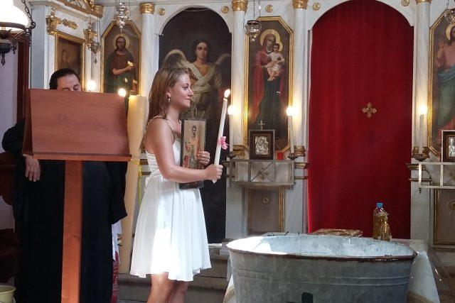 Petra se na svůj křest dlouho připravovala