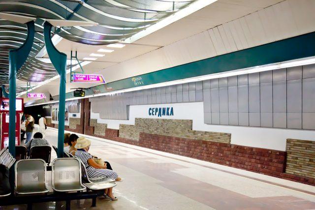 Stanice sofijského metra Serdica
