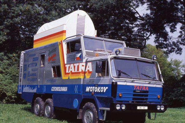 Expediční Tatra, která v 80. letech projela více než 70 zemí světa.