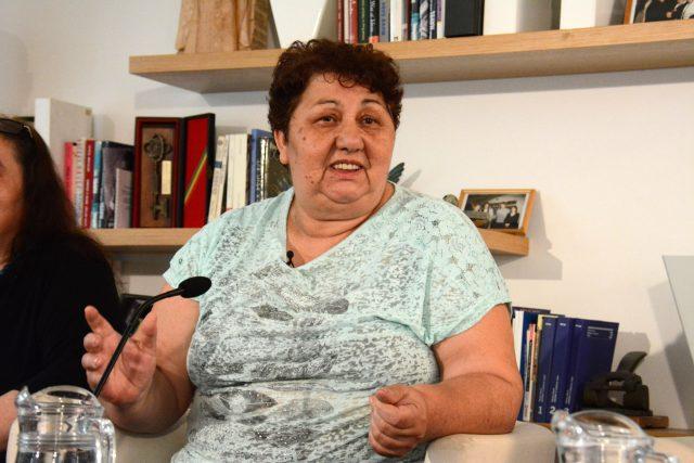 Romská spisovatelka Ilona Ferková na festivalu Khamoro 2017