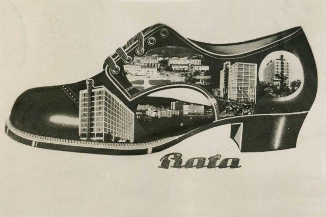 Baťa (pohlednice ze 30. let)