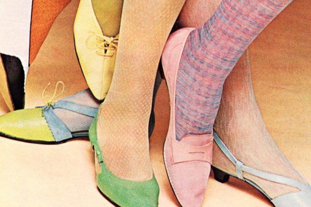 punčochy - nohy - boty - gender