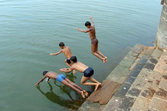Nejohroženější je povodí indické Gangy