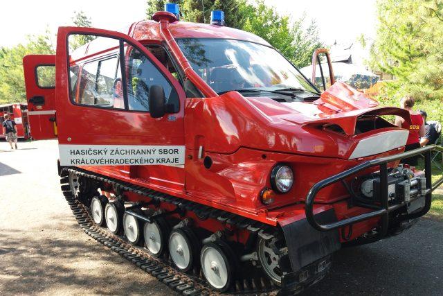 Obojživelné vozidlo GAZ BOBR je v současnosti jediné svého druhu u hasičů v celé republice