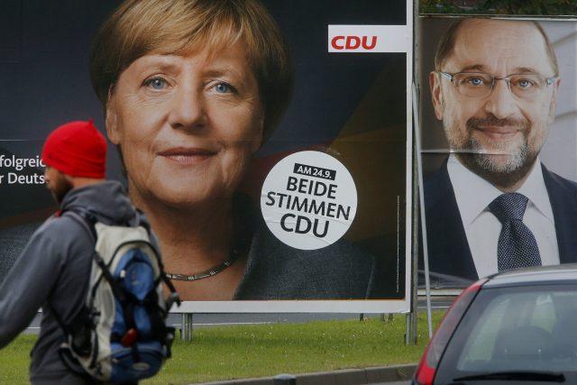 Merkelová volby Německo
