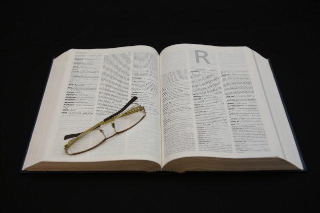 Slovník, písmeno R