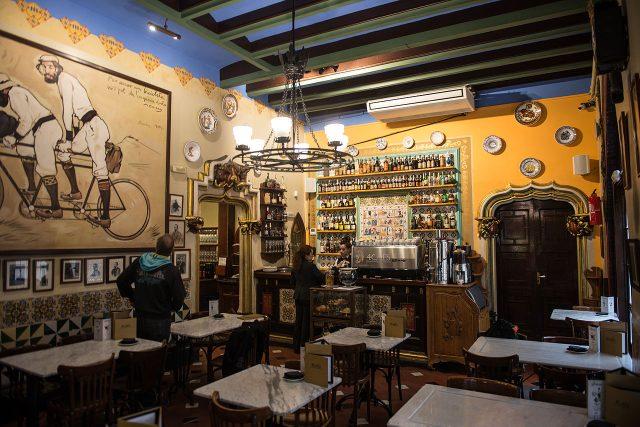 Restauraci U 4 koček v Barceloně proslavil snímek Woodyho Allena Vicky Cristina Barcelona