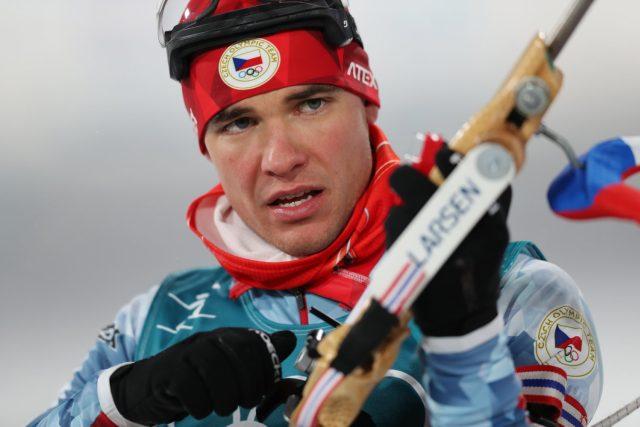 Michal Krčmář, biatlon, Pchjongčchang