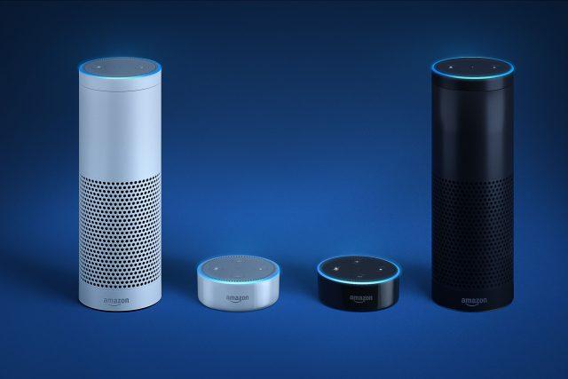 Chytré reproduktory Amazon Echo a Amazon Echo Dot