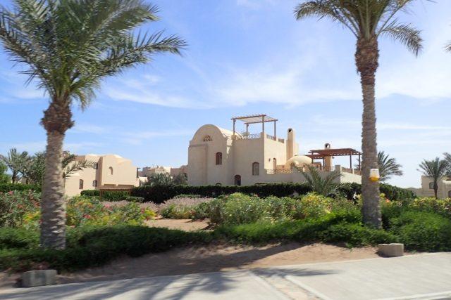 Letovisko al-Gouna v Egyptě nedaleko Hurghády