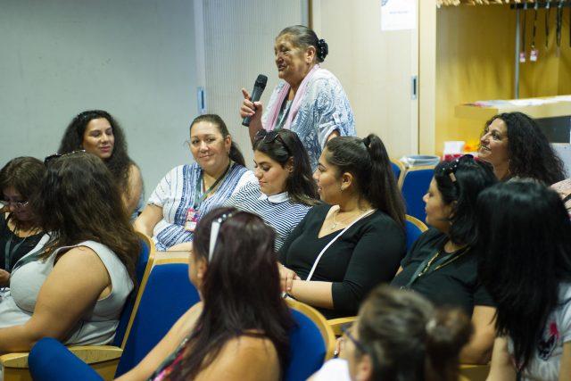 Konference Romské ženské skupiny Manushe   foto:  Slovo 21