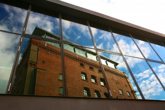 Knihovna Bauhaus-Universität v německém Výmaru
