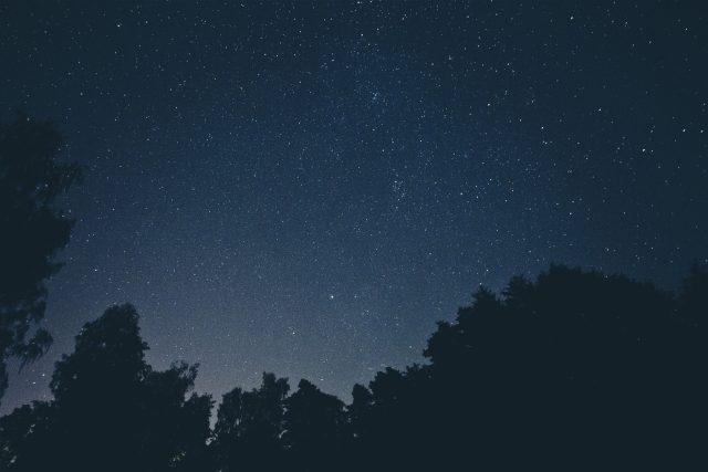 hvězdy - hvězdné nebe
