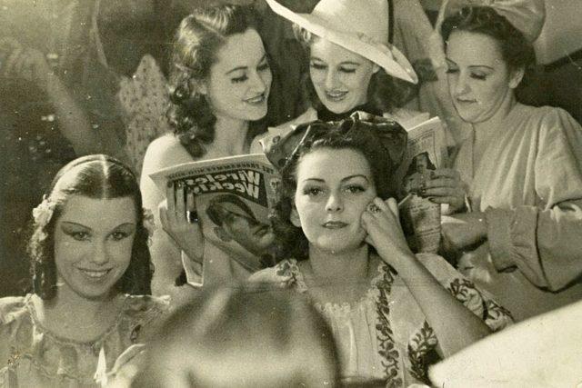 Ženy, 1. polovina 20. století (ilustrační snímek)