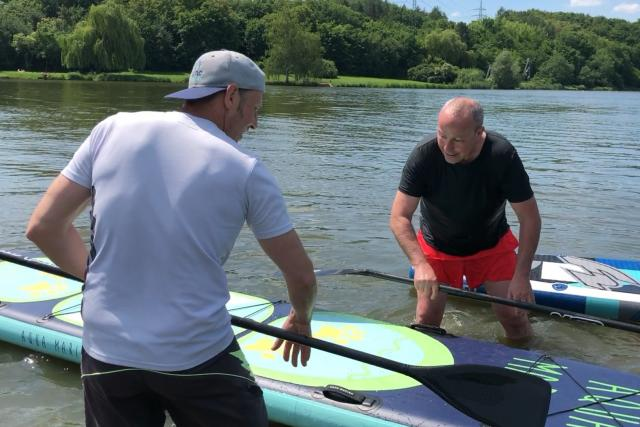 Jan Pokorný a David Raab dávají prkna na vodu