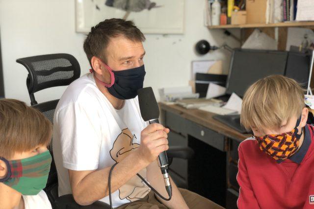 Výtvarník David Böhm vzal své dva syny na dobrodružnou výpravu na Antarktidu