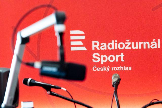 Přípravy newsroomu nové stanice Radiožurnál Sport | foto: Khalil Baalbaki,  Český rozhlas,  Český rozhlas