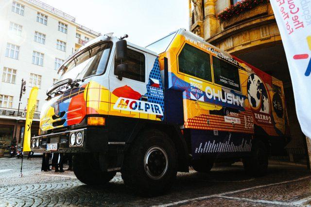 Tatra se chystá podruhé na cestu kolem světa