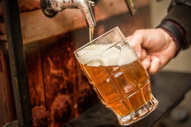 Čepované pivo (ilustrační foto)