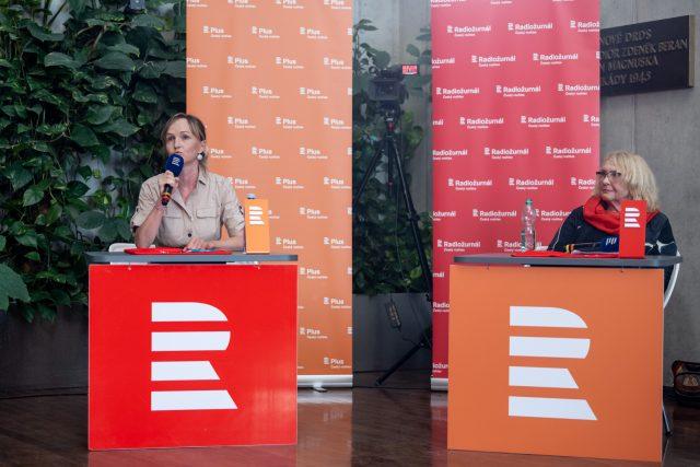 Marie Bastlová a Lída Rakušanová | foto: Khalil Baalbaki,  Český rozhlas