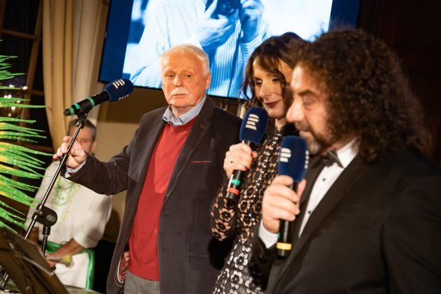 Petr Brukner na předávání prvního ročníku Ceny Hanzelky a Zikmunda - cestopis roku