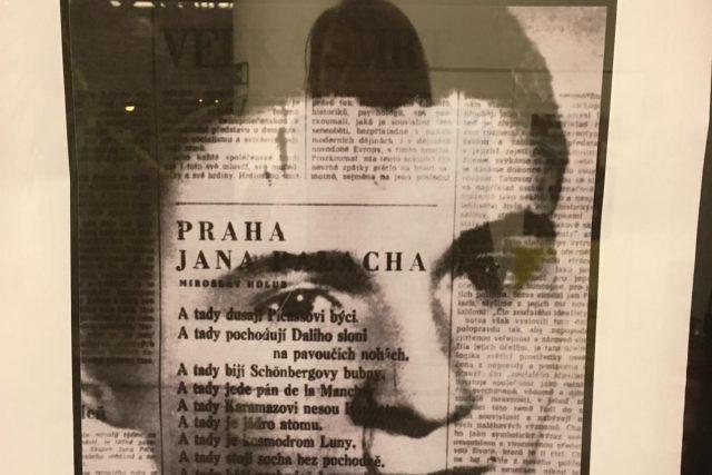 Výstava Pochodeň číslo 1 – Jan Palach v českobudějovické Galerii Nahoře
