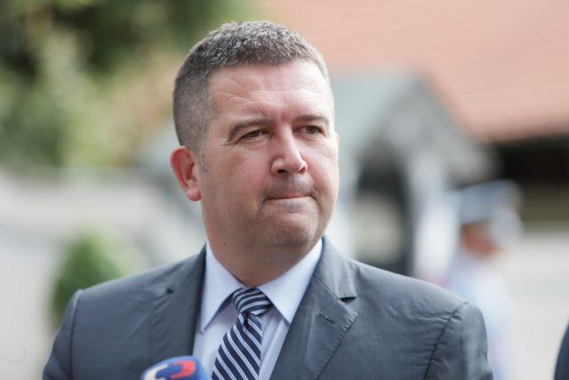 Jan Hamáček, předseda ČSSD a vicepremiér