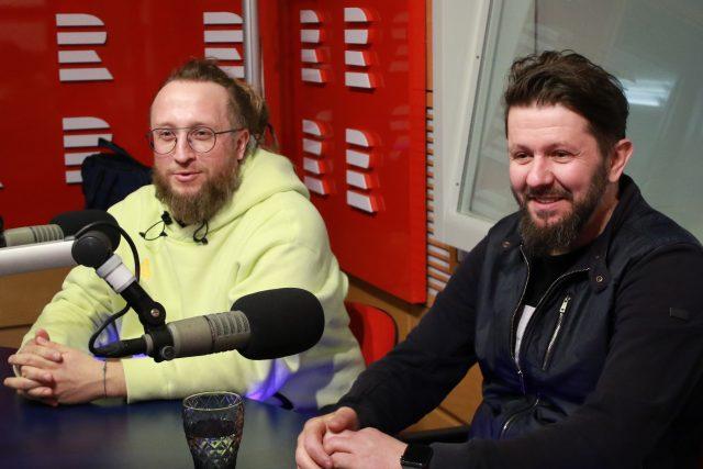 Tomáš Popp a Martin Svatek, šéfkuchař a manažer české reprezentace na kuchařské olympiádě