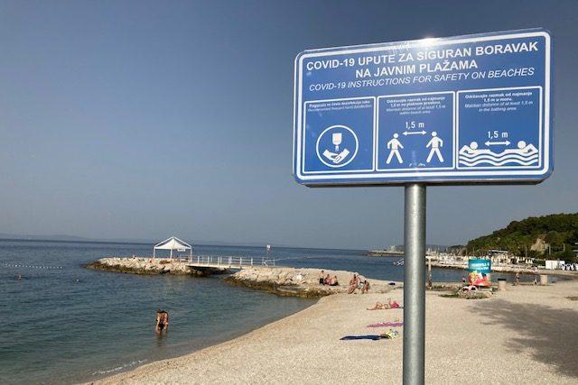 Pláže zatím nejsou přeplněné