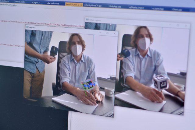 Řešení Nullspaces už nepočítá s nutností sledovat displeje mobilů nebo počítačů | foto: Miloslav Hamřík,  Český rozhlas,  Český rozhlas
