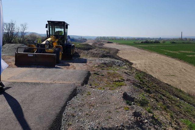 Zahájení stavby úseku dálnice D3 mezi Úsilným a Hodějovicemi na Českobudějovicku