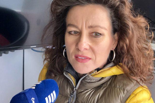 Běžkyně Lenka Kubková