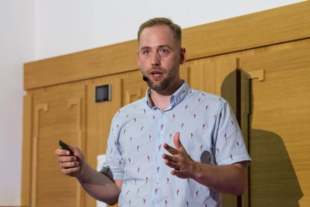 Martin Kotek z Asociace virtuální a rozšířené reality