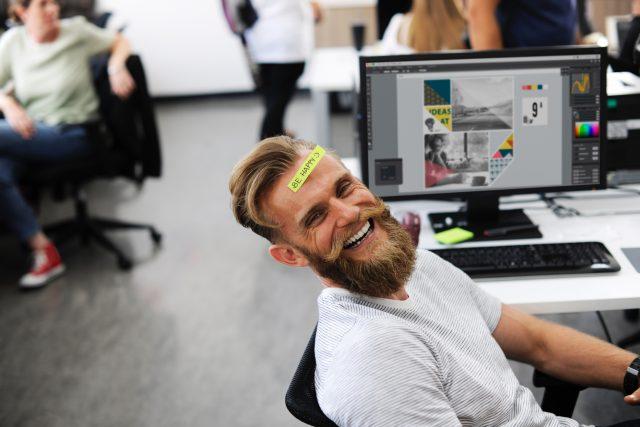 Radost v práci, štěstí v práci, práce, happiness manager, manažer štěstí (ilustrační foto)