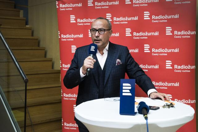 Debatu moderoval Jan Pokorný