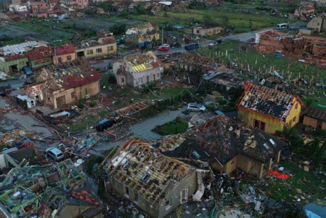 Jižní Morava po ničivé přírodní katastrofě