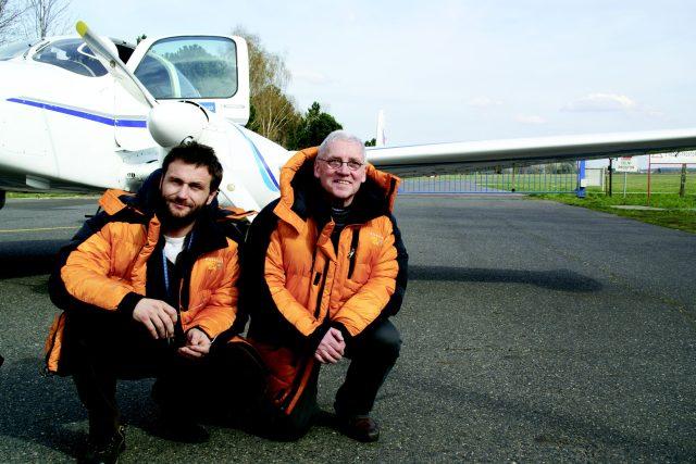 Richard Santus a Petr Bold v letounu L 200 Morava obletěli severní pól