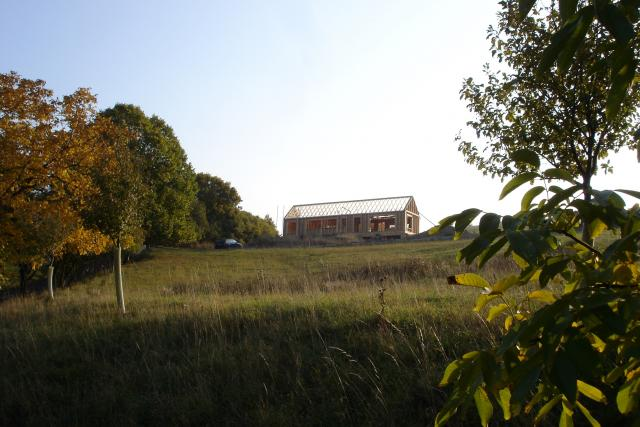 Rodinné domy - nejčastější zadání architekta v Beskydech  (dům ve Vizovických vrších) | foto: archiv Henkai architekti