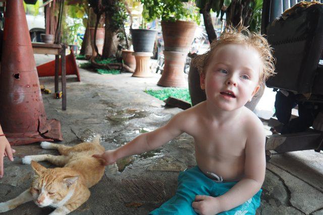 Lenka Linhartová cestovala s tříletým autistickým synem po Thajsku