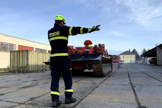Záchranný útvar sídlí na třech místech: ve Zbirohu, Jihlavě a v Hlučíně v Moravskoslezském kraji
